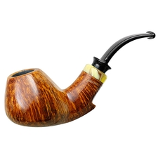 P. Jeppesen Handmade Ida Easy Cut Smooth Bent Brandy (4)