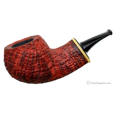 Barone Sandblasted Bent Apple with Boxwood (B3)