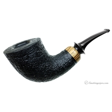 Sandblasted Bent Dublin with Zebrawood
