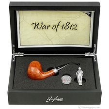 Pipe of the Year 2014 Smooth Bent Billiard (73/100) (Rock Maple Inserts)
