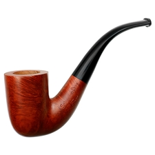 Light Smooth Bent Billiard