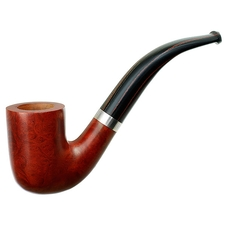 Light Smooth Bent Billiard with Silver