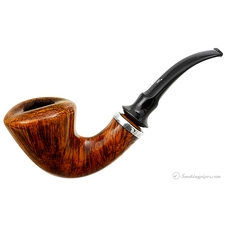 Nording Smooth Freehand Bent Dublin with Silver Band (17)