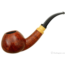 Bjarne Nielsen Handmade Smooth Bent Apple (A) (Unsmoked)