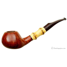 Kai Nielsen Jewel of Denmark Straight Grain Smooth Bent Brandy with Bamboo