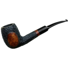Jarl Chieftan Partially Rusticated Bent Billiard (7116)