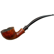 Karl Erik Spot Carved Bent Dublin with Plateau
