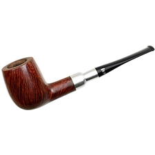 Stanwell Silver Mount Smooth Billiard (03) (1970s-1980s)