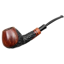 Winslow Partially Rusticated Bent Brandy (E)