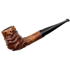 Danish Estates Nording Valhalla Carved Billiard (302) (Unsmoked)