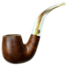 GBD Virgin Bent Billiard with Perspex Stem (5091) (pre-1980)