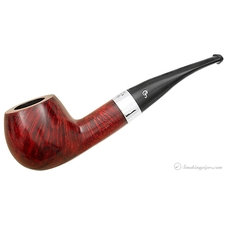 Peterson 'Sterling Silver' Smooth (408) (Fishtail) (Unsmoked)