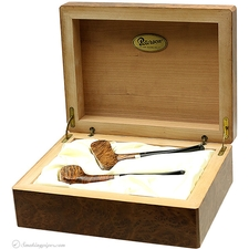 Peterson Hand-Made Golf Club Set with 9K Gold Bands and Presentation Box (P-Lips) (1996) (Unsmoked)