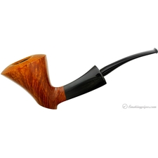 Frank Axmacher Smooth Bent Dublin Sitter with Horn (08A) (Unsmoked)