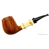 Gabriele Smooth Bent Brandy with Bamboo (Whale)