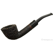 Fiamma di Re Rusticated Bent Dublin (Una Corona) (9mm) (Unsmoked)
