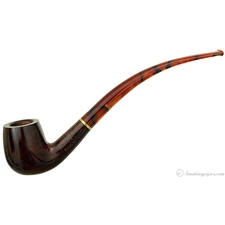 Savinelli Clark's Favorite Smooth Bent Billiard (6mm)
