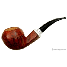 Il Ceppo Smooth Bent Bulldog with Silver (4) (Unsmoked)