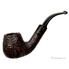 Brebbia Junior Sandblasted Bent Brandy (2735) (9mm)