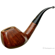Pipa Croci Smooth 'Quality Street' Artistica Paneled Bent Brandy (Unsmoked)