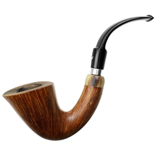 Luigi Viprati Smooth Bent Dublin with Horn (G) (4 Clover)