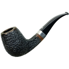 Caminetto Rusticated Bent Billiard with Silver (8.L) (AR) (150/500)