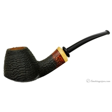Peter Matzhold Sandblasted Bent Brandy with Boxwood (C) (2009) (Unsmoked)