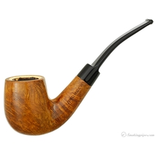 Pioneer Meerschaum Lined Smooth Bent Billiard
