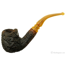 Jobey Stromboli Rusticated Bent Billiard (145)
