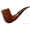 Larry Roush Sandblasted Bent Chimney with Silver (S3) (895) (2004)
