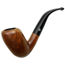 American Pipe Smoking Company Smooth Bent Egg (10/98-MT)