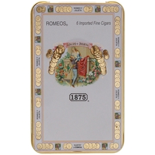 1875 Romeos Tin of 6 Cigars